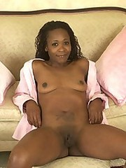 Stunning cock hungry ebony babe with..
